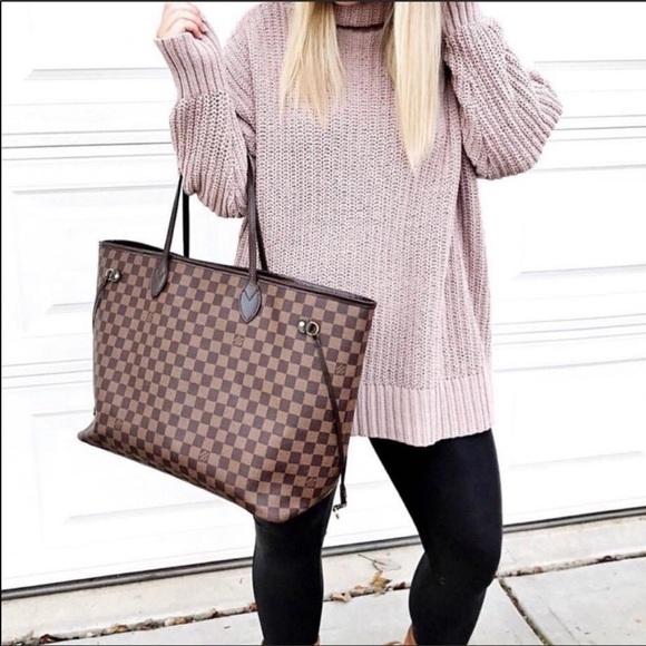 Louis Vuitton Handbags - Authentic Louis Vuitton Neverfull Damier MM